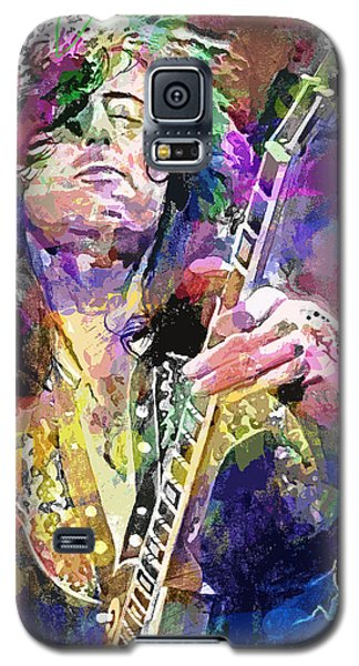 Jimmy Page Electric Galaxy S5 Case