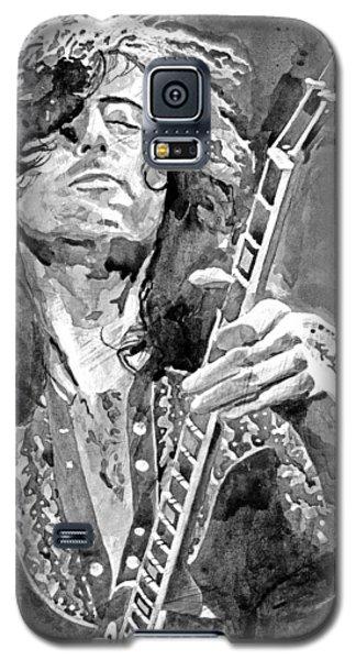 Jimmy Page Mono Galaxy S5 Case
