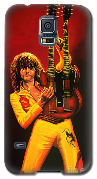 Jimmy Page Painting Galaxy S5 Case