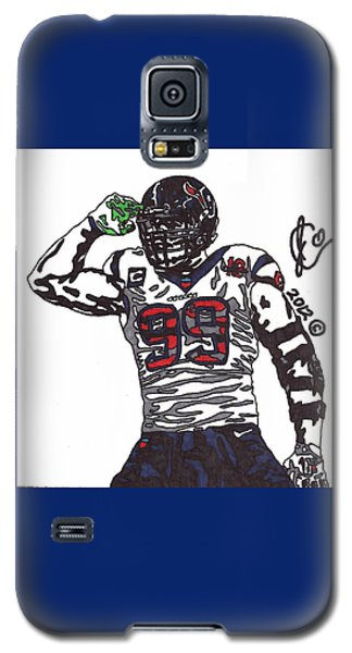 Jj Watt 1 Galaxy S5 Case by Jeremiah Colley
