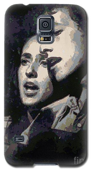 Joan Baez And Bob Dylan Galaxy S5 Case