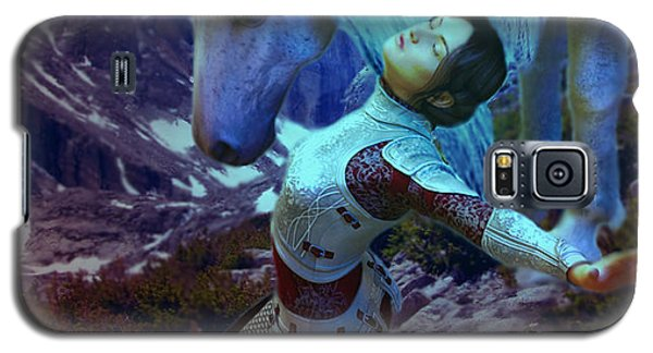 Joan Of Arc  Blue Visions Galaxy S5 Case by Suzanne Silvir