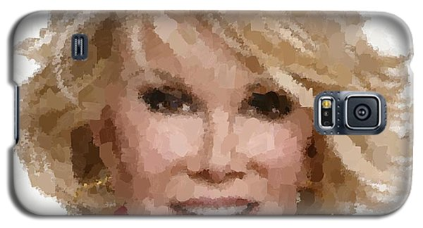 Joan Rivers Portrait Galaxy S5 Case
