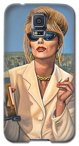 Joanna Lumley As Patsy Stone Galaxy S5 Case
