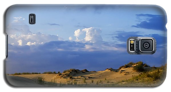 Galaxy S5 Case featuring the photograph Jockey's Ridge State Park by Skip Tribby