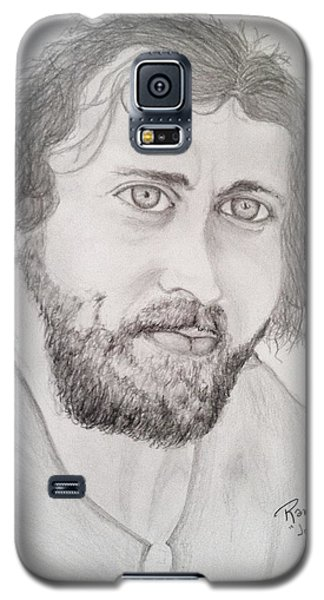 Galaxy S5 Case featuring the painting Joe Cocker by Rand Swift
