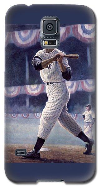 Babe Ruth Galaxy S5 Case - Joe Dimaggio by Gregory Perillo