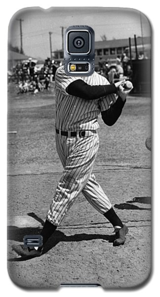 Joe Dimaggio Hits A Belter Galaxy S5 Case