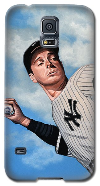 Bat Galaxy S5 Case - Joe Dimaggio by Paul Meijering