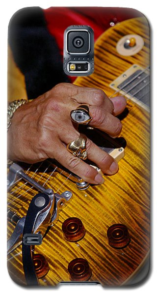 Galaxy S5 Case featuring the photograph Joe Perry - Aerosmith by Don Olea