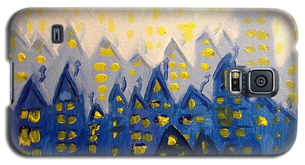 Joes Blue City Galaxy S5 Case by Joseph Hawkins
