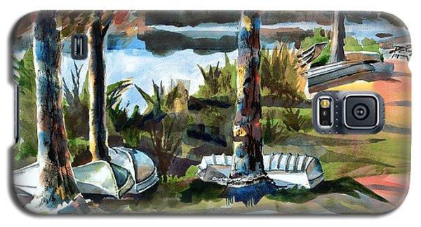 John Boats And Row Boats Galaxy S5 Case