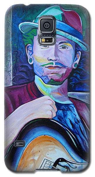 Galaxy S5 Case featuring the painting John Butler by Joshua Morton