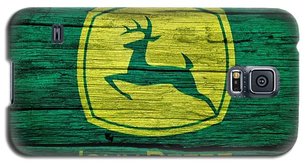 John Deere Barn Door Galaxy S5 Case by Dan Sproul