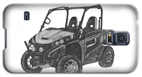 Galaxy S5 Case featuring the drawing John Deere Gator by Patricia Hiltz