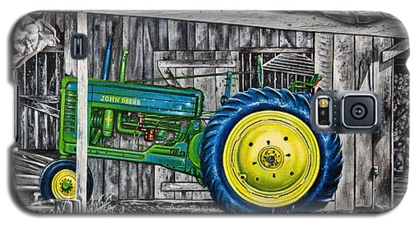 John Deere Green Galaxy S5 Case