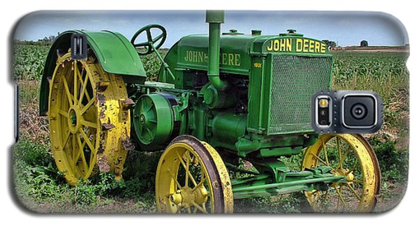 John Deere Tractor Hdr Galaxy S5 Case by Ken Smith