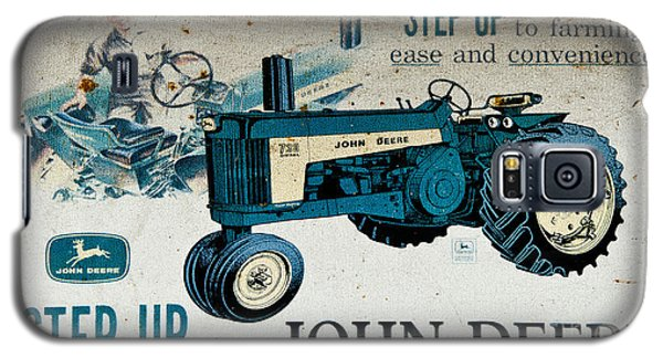 John Deere Tractor Sign Galaxy S5 Case