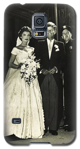 John F Kennedy And Jacqueline On Wedding Day Galaxy S5 Case