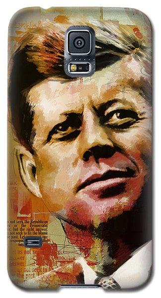 John F. Kennedy Galaxy S5 Case by Corporate Art Task Force