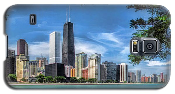 John Hancock Chicago Skyline Panorama Galaxy S5 Case