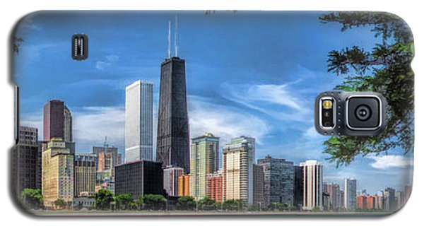 John Hancock Chicago Skyline Panorama Galaxy S5 Case