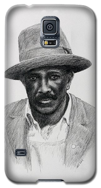 Galaxy S5 Case featuring the drawing John Hearn by Daniel Reed