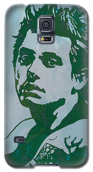 John Mayer - Pop Stylised Art Sketch Poster Galaxy S5 Case by Kim Wang