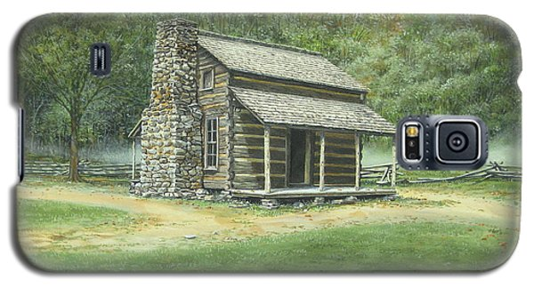 John Oliver Cabin Galaxy S5 Case by Bob  George