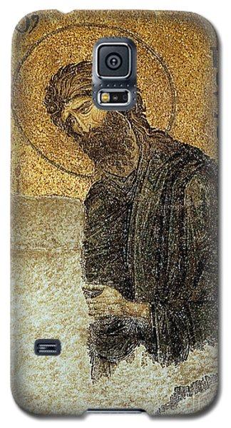 John The Baptist-detail Of Deesis Mosaic  Hagia Sophia-judgement Day Galaxy S5 Case