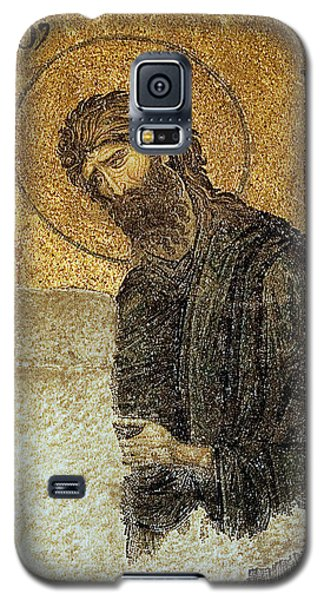 John The Baptist-detail Of Deesis Mosaic  Hagia Sophia-judgement Day Galaxy S5 Case