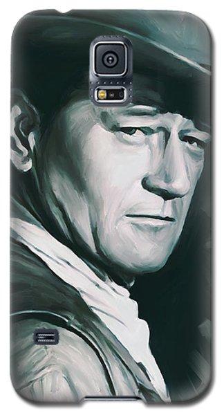 John Wayne Artwork Galaxy S5 Case
