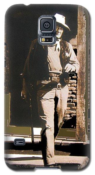 John Wayne Exciting The Sheriff's Office Rio Bravo Set Old Tucson Arizona 1959-2013 Galaxy S5 Case