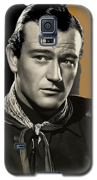 John Wayne  Publicity Photo In Costume Stagecoach 1939-2009 Galaxy S5 Case by David Lee Guss