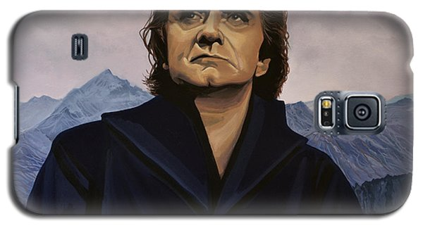 Johnny Cash Painting Galaxy S5 Case