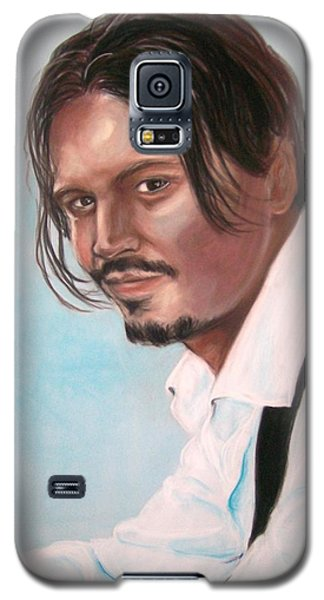 Johnny Depp Galaxy S5 Case