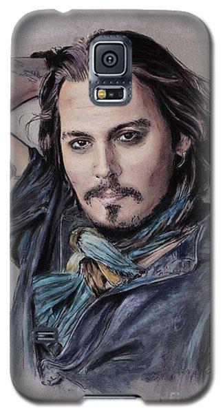 Johnny Depp Galaxy S5 Case - Johnny Depp by Melanie D