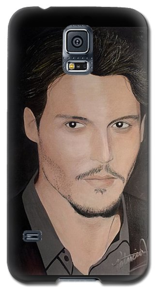 Johnny Depp - The Actor Galaxy S5 Case
