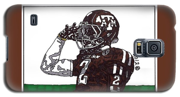 Johnny Manziel The Salute Galaxy S5 Case by Jeremiah Colley