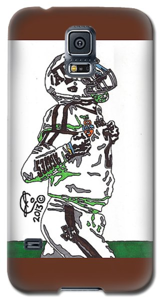 Johnny Manziel 4 Galaxy S5 Case by Jeremiah Colley