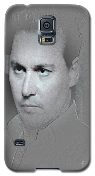 Galaxy S5 Case featuring the photograph Johnny by Yury Bashkin