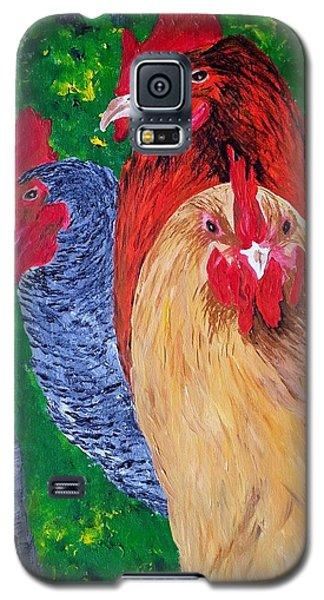 John's Chickens Galaxy S5 Case
