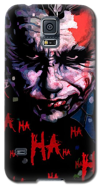 Joker Galaxy S5 Case by Jeremy Scott