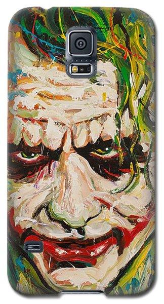 Heath Ledger Galaxy S5 Case - Joker by Michael Wardle