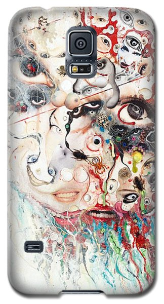 Joker Of Junkadelphia Galaxy S5 Case by Douglas Fromm