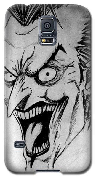 Galaxy S5 Case featuring the painting Joker by Salman Ravish