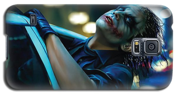 Joker Galaxy S5 Case by Veronika Limonov