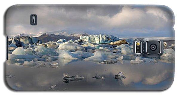 Jokulsarlon Glacier Lagoon Panorama Galaxy S5 Case