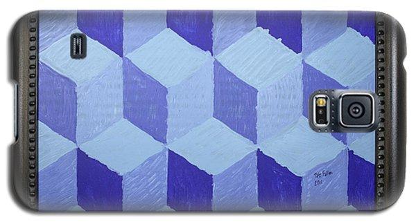 Jolly Cubes Galaxy S5 Case by Tate Fallon