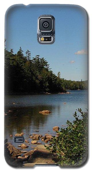 Galaxy S5 Case featuring the photograph Jordan Pond Bar Harbor Maine by Jennifer Wheatley Wolf